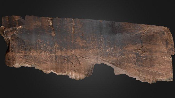Petroglyph Panel, Little Colorado River
