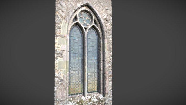 Church Window 01 - Arreton 3D Model