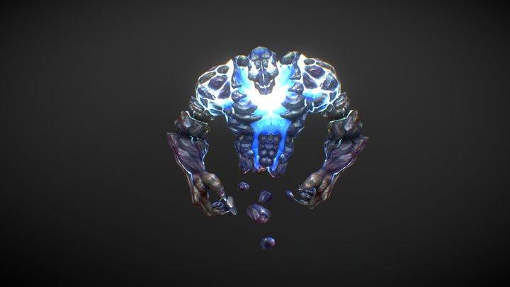 The Thunderman dance. 3D Model