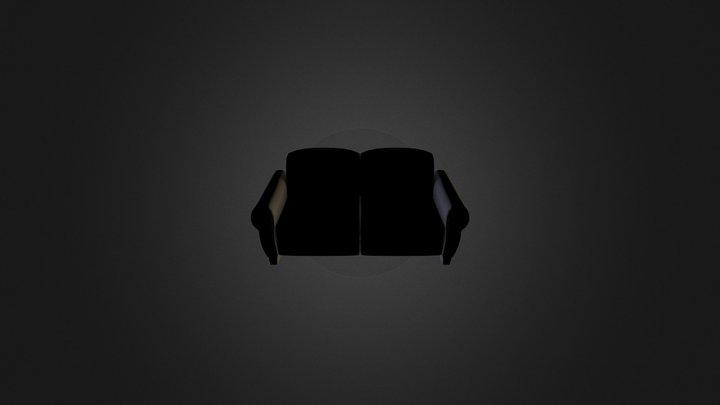 Sofa model 3D Model