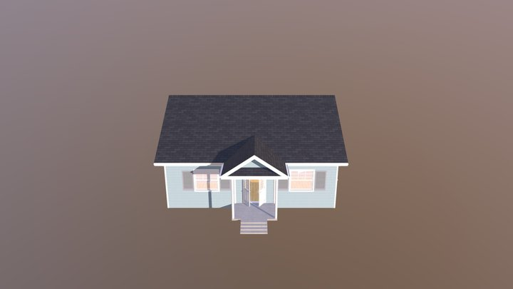 Bungalow The Budd 3D Model