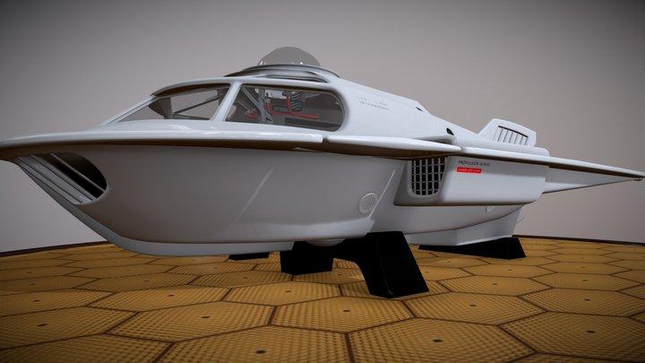 Proteus  Submarine — High Detail Version 3D Model