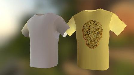 t-Shirt design 3D Model