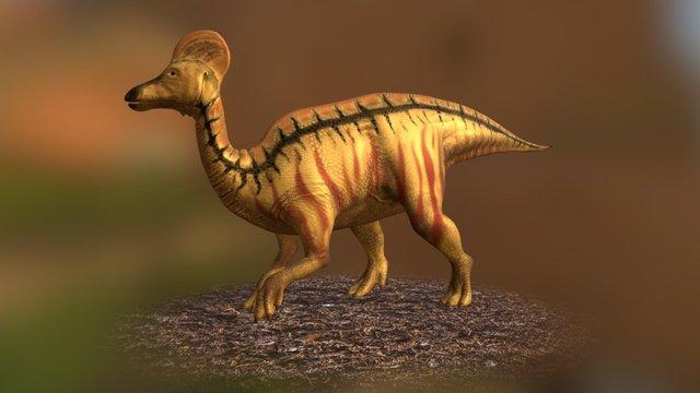 Corythosaurus 3D Model