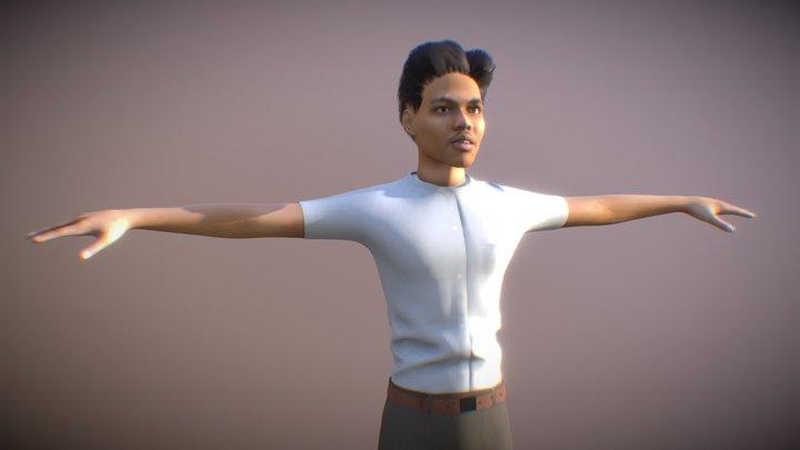 Anton 3D Model