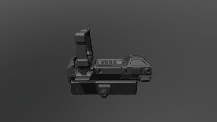 SPD FlipDot 3D Model