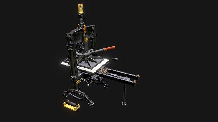 Albion No. 6551 3D Model