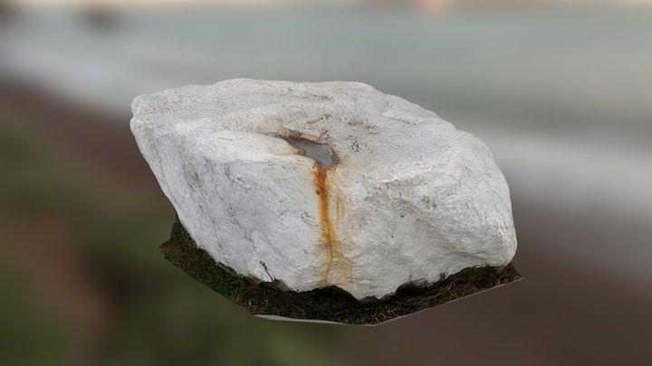 White stone - 3D scanned 3D Model