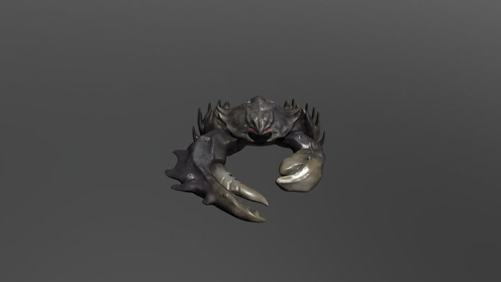 Monster Crab 3D Model