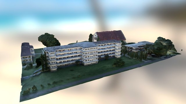 Unklab Building 3D Model