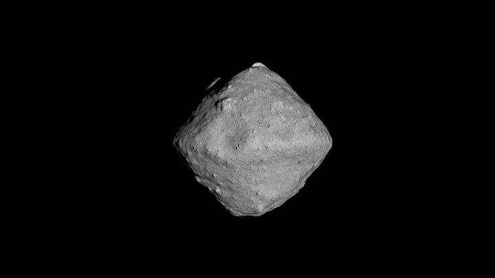 Asteroid Ryugu 3D Model