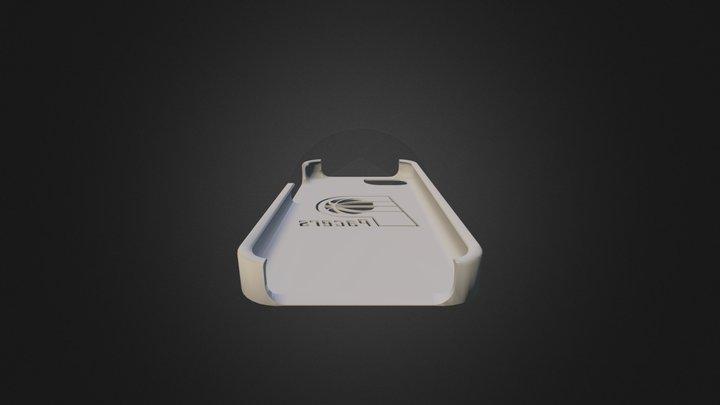 Pacers Phone Case 3D Model