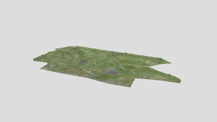 Club de Golf 3 Vidas, Acapulco 3D Model