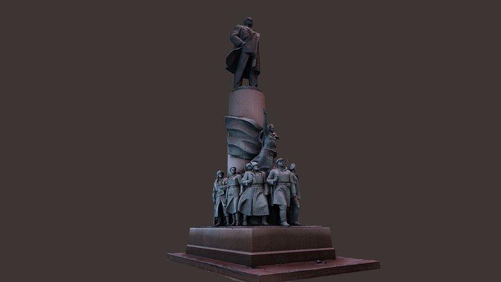 Monument to Lenin in the Kaluga Square (WiP) 3D Model