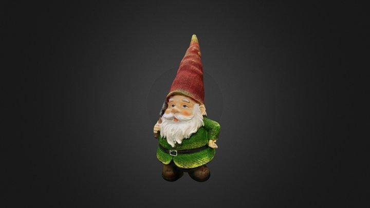 Garden Gnome (Rough Demo) 3D Model