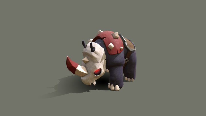 Rhino Mount 3D Model