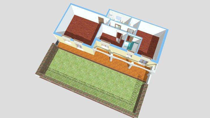 Vendita appartamento Noventa Padovana 3D Model