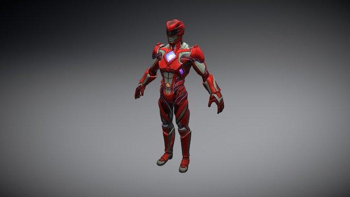 RED RANGER 3D Model