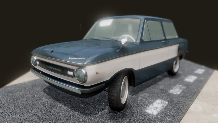 ZAZ 966 [1968] 3D Model