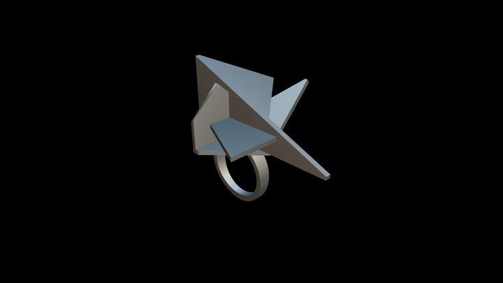 Polygon Ring 3D Model