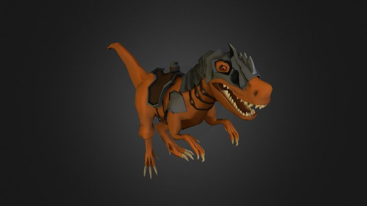 Dragon Cavalry 3D Model