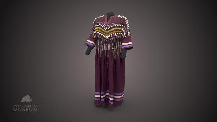 Niitsitapi (Blackfoot) dress 3D Model