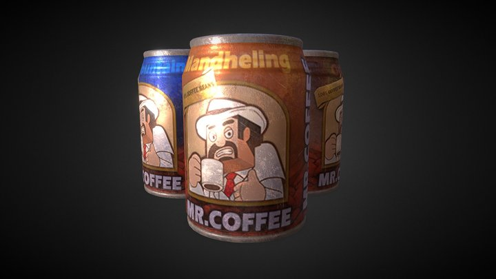 Drink Can 3-1,3-2,3-3 3D Model