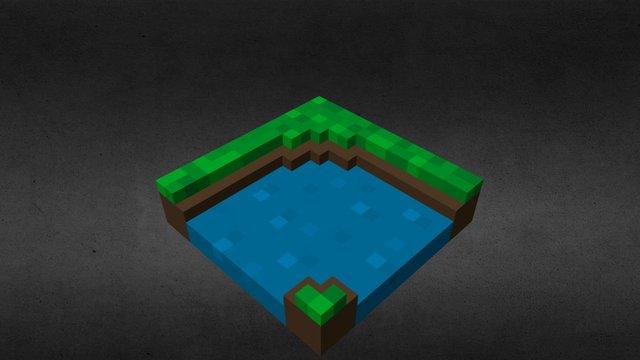 River Bend 3D Model