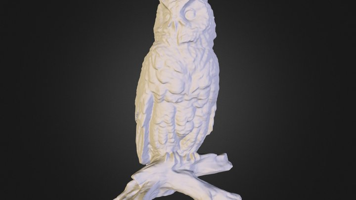 Owl stuatuette: iPhone4S 3D Model