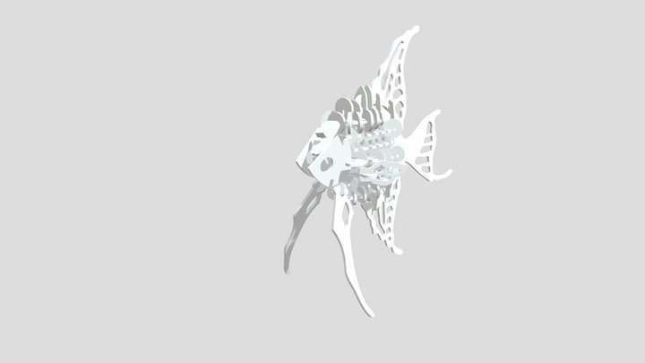 Fish Puzzle 3D Model