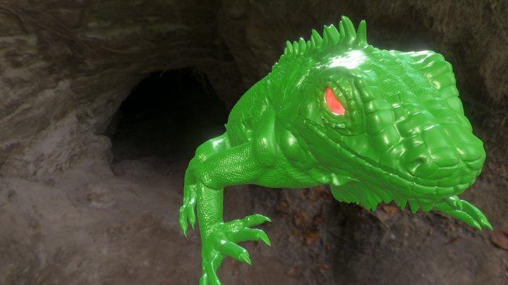 Iguana3 3D Model