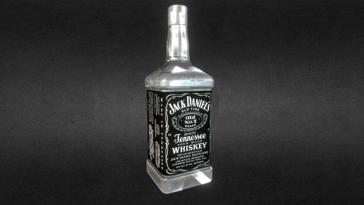 Jd Bottle 3D Model