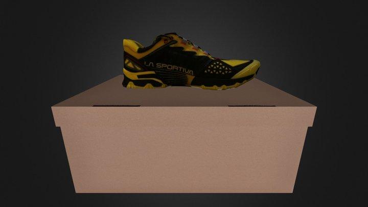 Shoe-trail 3D Model