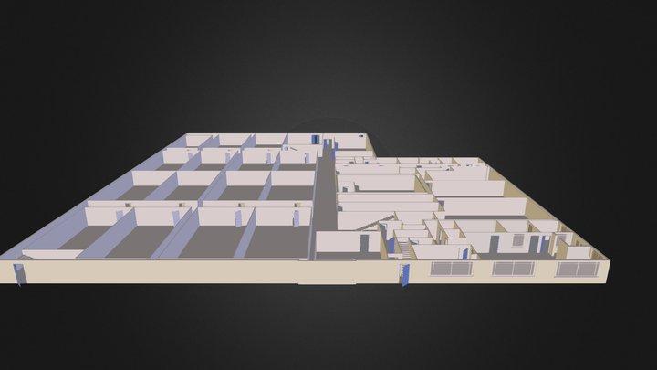 Lower Level No Objects 3D Model