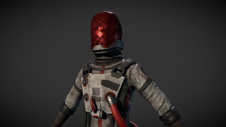 Space Dan : Astro Man 3D Model