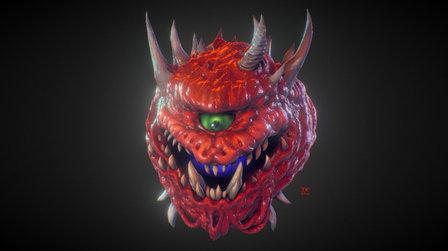 DOOM: Cacodemon 3D Model
