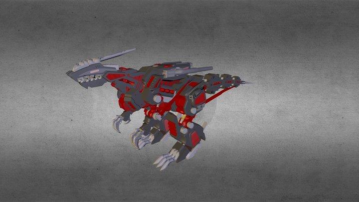 Zoids - Genoblade 3D Model