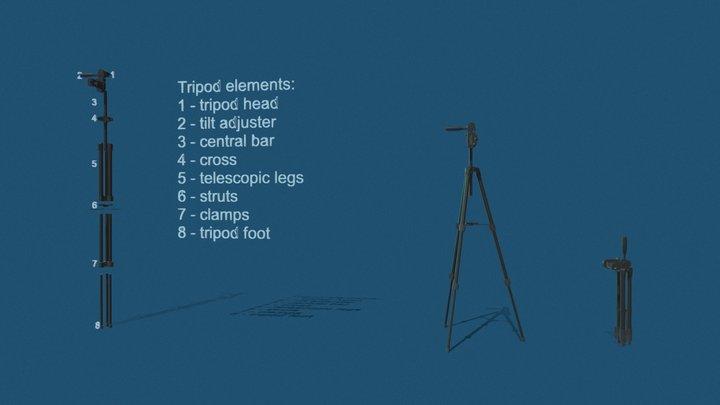 Tripod Homework 3D Model