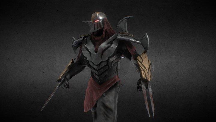 Zed : League Of Legends Fanart 3D Model