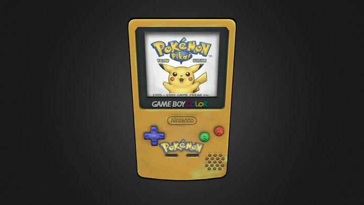 Gameboy Challenge - Pokemon Edition 3D Model
