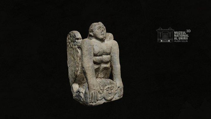 Sfinx funerar, Apulum 3D Model