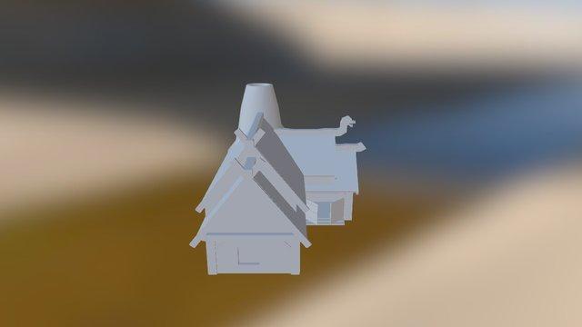 Viking Market Stall 3D Model