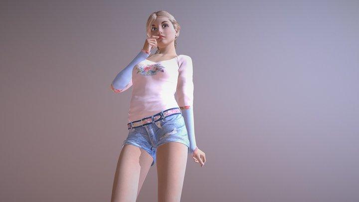 Genna Vandella 3D Model
