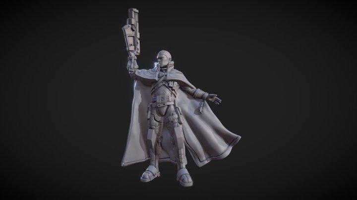 Ciborg 3D Model