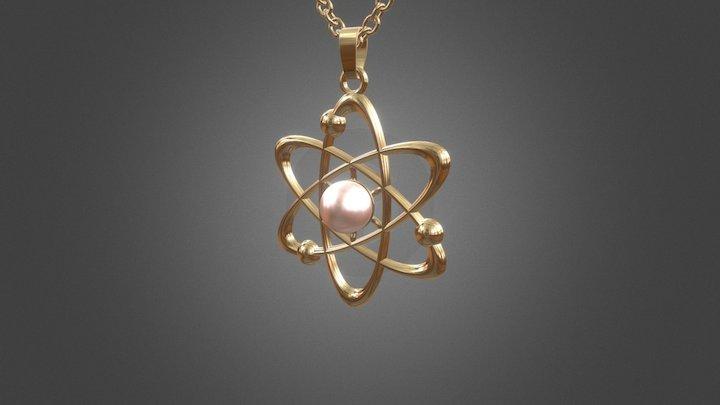 574 - Pendant: Atom 3D Model