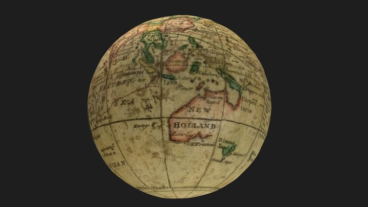 MH10 001_01 -  Map - Terrestrial Global 3D Model