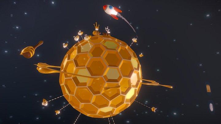 003 Honeycomb 3D Model