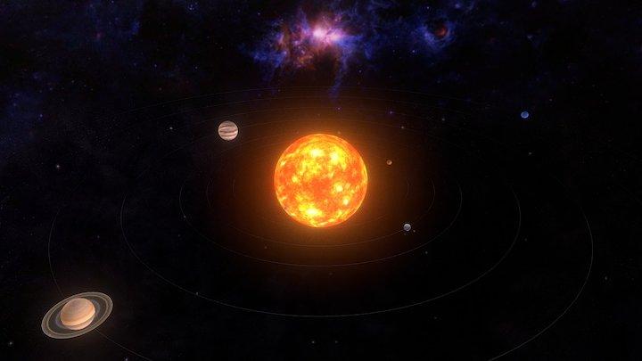 Sistema Solar/Solar System 3D Model