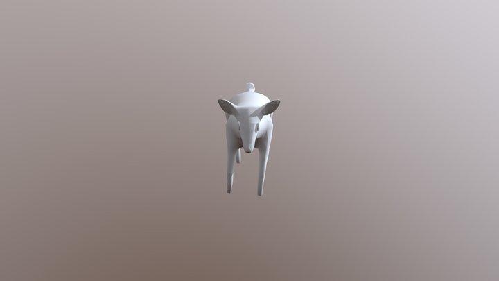 Deer Idle 3D Model