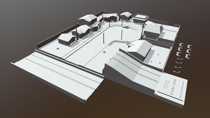Grove Street STL 3D Model